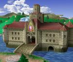 Château de la princesse Peach - SSBM