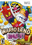 Wario Land The Shake Dimension Jaquette américaine
