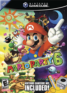 Mario Party 6 Coverart