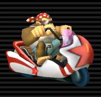 Scoot Comète Funky Kong
