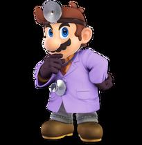 Art Dr. Mario violet Ultimate