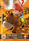 Carte amiibo Bébé Mario course équestre
