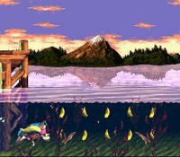 DKC3 Screenshot Gezeiten-Pleiten