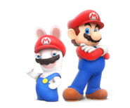 Rabbid y Mario - KingdomBattle