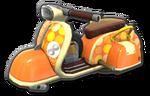 Corps Scooter orange