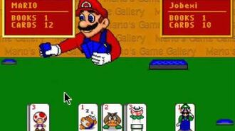 Mario's Game Gallery - Go Fish