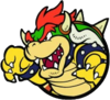 Mario Slam Basketball Bowser art