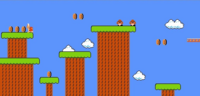 SMB World 1-3 NES 1