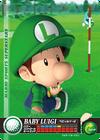 Carte amiibo Bébé Luigi golf