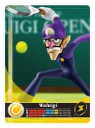 Carte amiibo Waluigi tennis