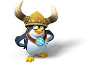 DKCTF Wikinger Pinguin