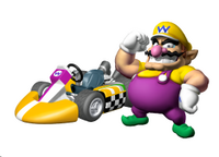 MKW Artwork Wario