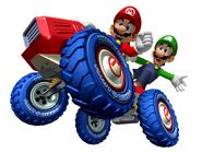 Mario y Luigi MKDD 4