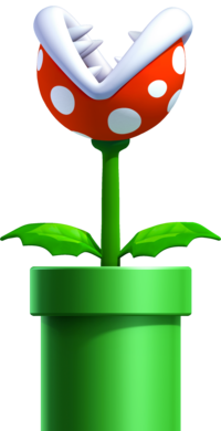 Piranha Plant, New Super Mario Bros. U