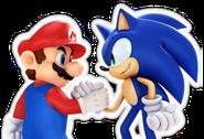 M&S Artwork Mario & Sonic 2