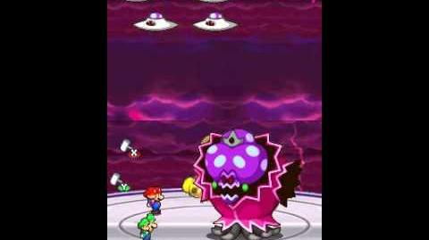 Mario & Luigi - Partners in Time Final Boss Elder Princess Shroob (NO DAMAGE)