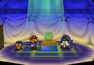 Inside Merlon's House (Paper Mario)