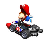 MKW Artwork Baby Mario 2
