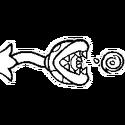 MVSDK TS Stempel Piranha-Pflanze