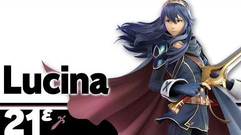 21ᵋ Lucina – Super Smash Bros