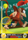 Carte amiibo Diddy Kong tennis