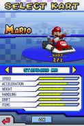 Mario in Standard MR MKDS