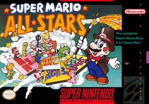 Super Mario All-Stars - North American Boxart