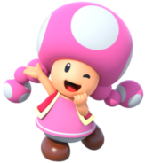 Toadette Super Mario Run