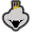 Icône King K. Rool blanc Ultimate