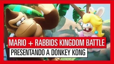 Mario Rabbids Kingdom Battle - Presentando a Donkey Kong