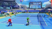 Mario Tennis Aces StadionBlau Welt