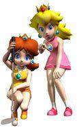 Nintendo peach daisy