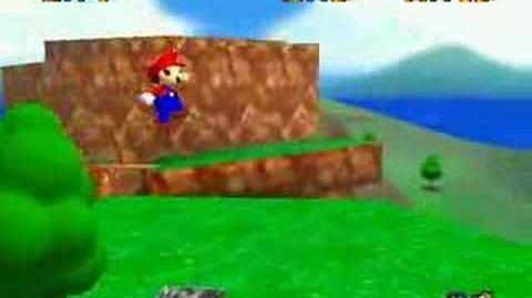 Super Mario 64 Walkthrough (Mario WIngs To The Sky)