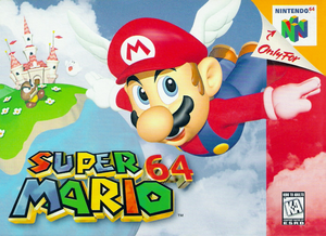 Super Mario 64 - North American boxart