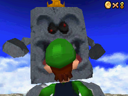 Whomp King - Starting Battle - Super Mario 64 DS