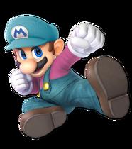 Art Mario bleu Ultimate