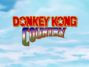 Donkey Kong Country Title Screen (TV Show)