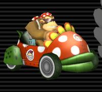 Kart Piranha Funky Kong