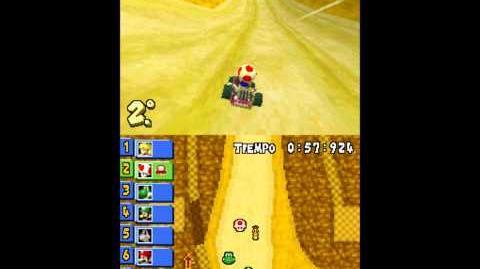 Mario Kart DS - Flower Cup Desierto Sol-Sol (Desert Hills)