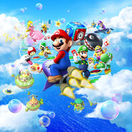 Mario Party Island Tour Artwork