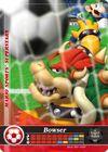 Carte amiibo Bowser football