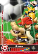 Carte amiibo Bowser football