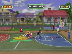 MP6 Screenshot Mario Streetball
