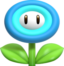 New Super Mario Bros. U Deluxe Ice Flower