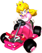 Peach Artwork (Mario Kart 64)
