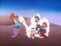 Le tapis magique