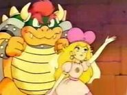 Mario-Anime Screenshot Bowser Peach