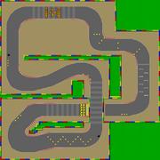 SNES Mario Circuit 2 SMK