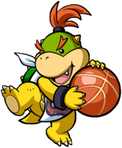 Artwork Bowser Jr Basketball