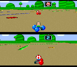Battle Course 1 - Toad and Koopa - Balloon Battle
